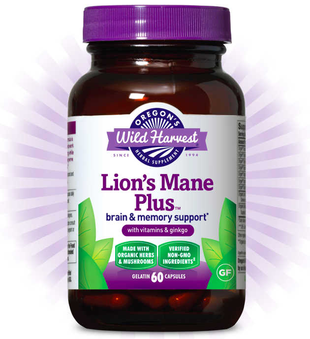 Lion's Main Plus by Oregon's Wild Harvest